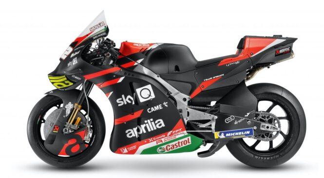 Aprilia predstavila letošnji motocikel