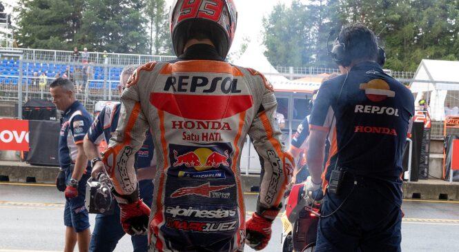 Marquez znova pred zdravnike: Kmalu bom lahko dirkal!