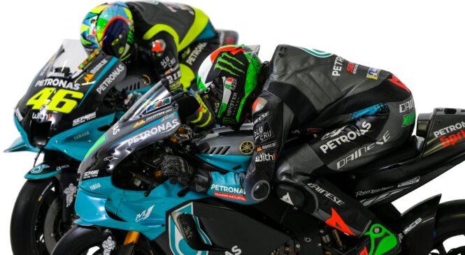 Petronas SRT z Rossijem in Morbidellijem v novih barvah