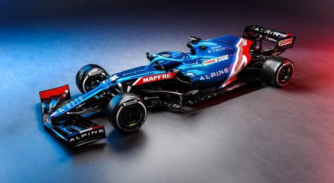 Moštvo Alpine F1 predstavlja novi dirkalnik A521