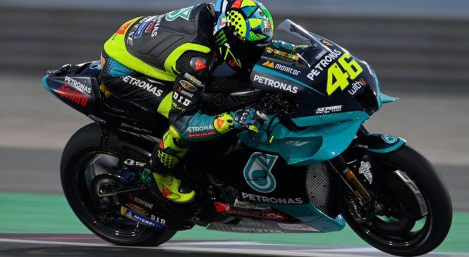 Rossi se je znova počutil kot dirkač