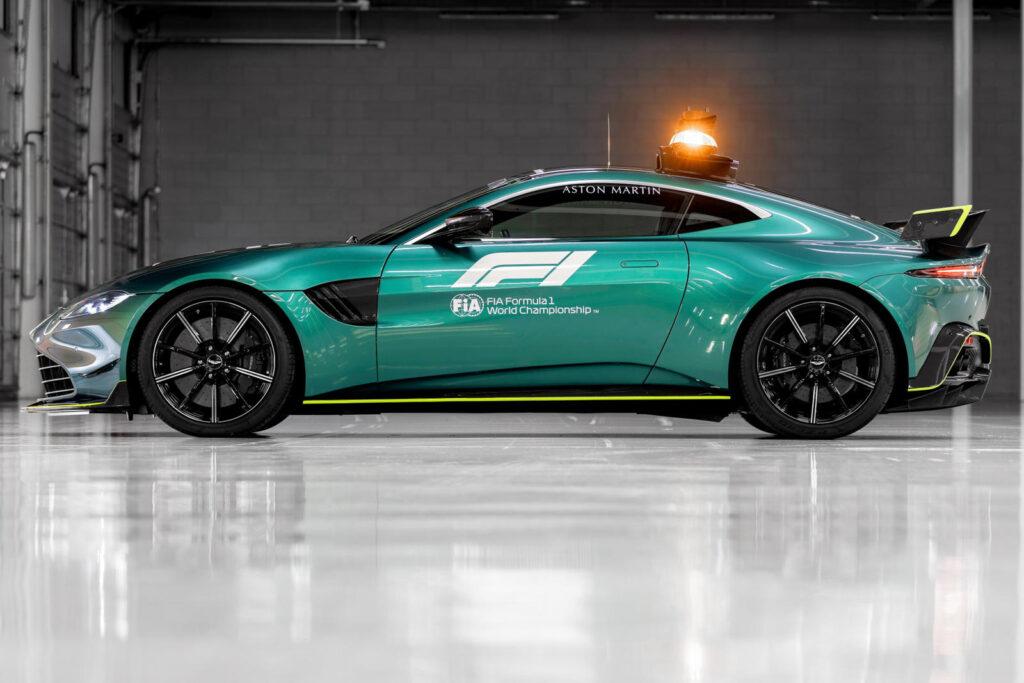 Aston Martin Vantage bo novi varnostni avto Formule 1.