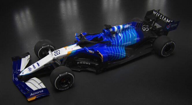 Moštvo Williams predstavlja FW43B