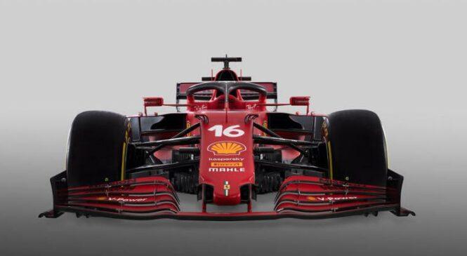 Ferrari predstavlja dirkalnik SF21