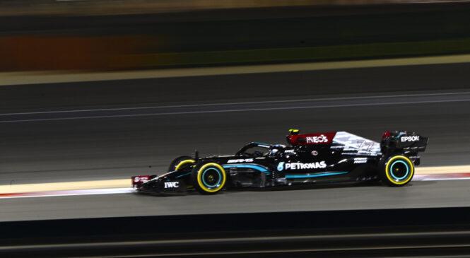 F1 VN Bahrajna: Hamilton zmagovalec puščavskega obračuna z Verstappnom
