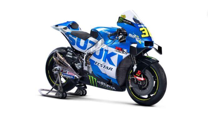 Suzuki razkril barvno kombinacijo z novim sponzorjem Monster