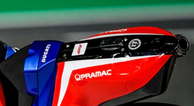 Moštvo Pramac Ducati z lotogipom Formule 1
