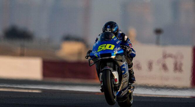 Suzuki v Katarju preizkuša tudi motor za sezono 2022
