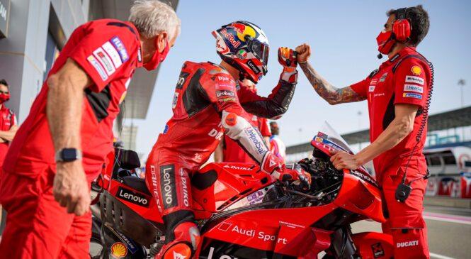 Pri Ducatiju niso zaskrbljeni, ker jim ni uspelo zmagati v Katarju