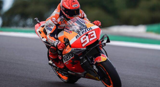 Marquez pričakuje, da bo med dirko trpel