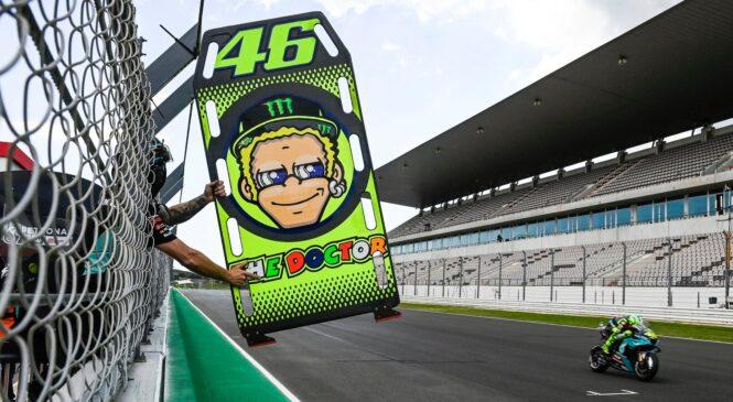 Valentino Rossi ne izključuje, da bo dirkač svoje ekipe
