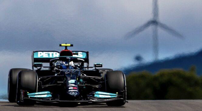 F1, VN Portugalske: Bottasu prvi trening