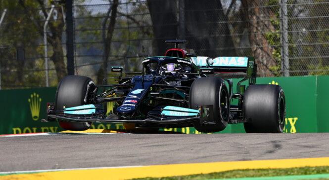 F1 Imola: LEWIS HAMILTON do 99. najboljšega štartnega položaja