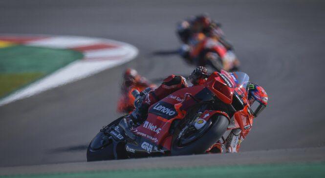 MotoGP, Jerez: Francesco Bagnaia najhitrejši na drugem treningu