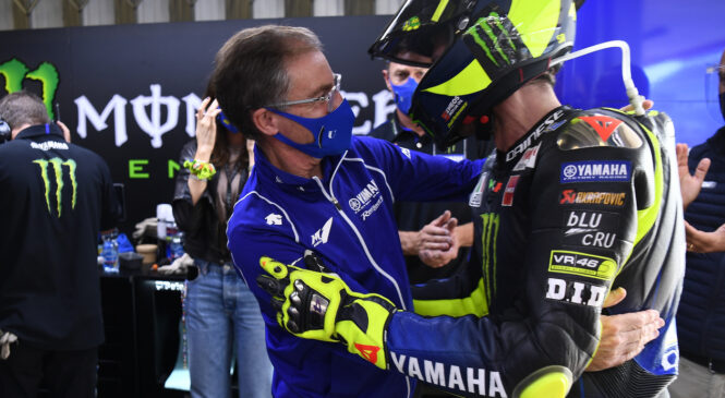 Valentino Rossi končuje kariero, v 2022 bo novi šef Yamahe