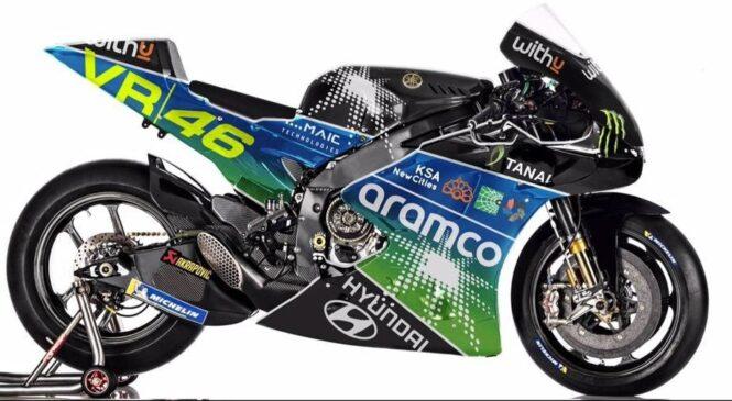 Rossijevo moštvo VR46 v MotoGP s podporo Savdske Arabije