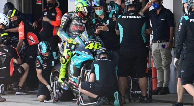 Valentino Rossi ima polno podporo PETRONAS YAMAHE