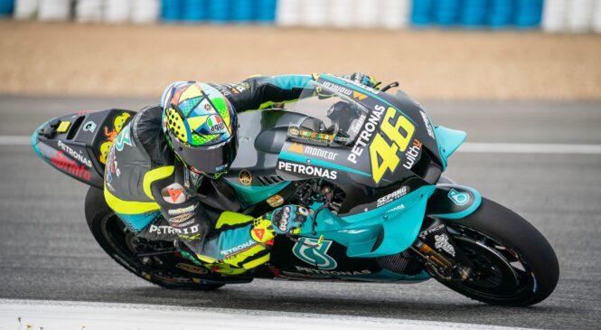 Rossi po testiranju v Jerezu nadaljevanje sezone gleda z malo več optimizma