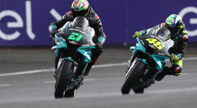 Rossi preveč zadržan v hitrem krogu