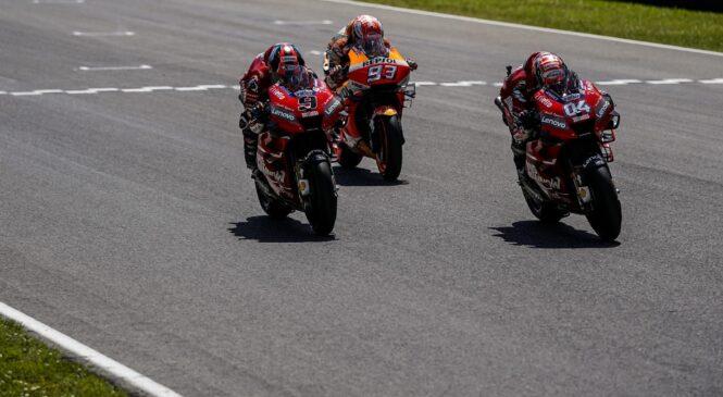 DUCATI je zmagal na zadnjih treh dirkah v Mugellu, lahko nadaljuje ta niz