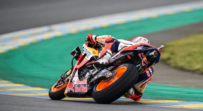 MotoGP, Le Mans: Marquezu tretji trening