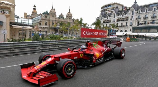 Leclerc brez kazni – dirko v Monaku začenja s prvega mesta