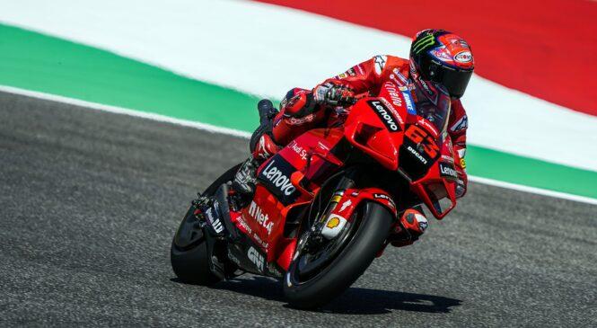 MotoGP, Mugello: Bagnaia na FP3 postavil nov rekord kroga