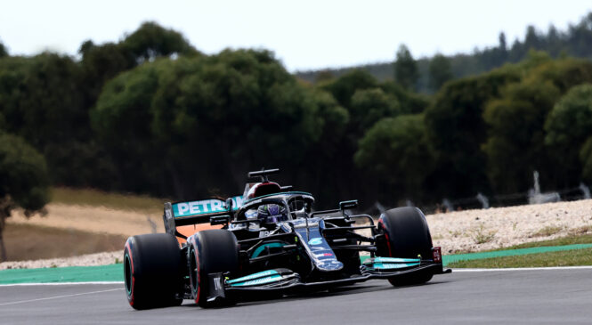 F1, VN Portugalske, FP2: Hamilton pred Verstappnom