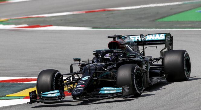 Rezultati petkovih treningov F1 v Španiji: Hamilton najhitrejši