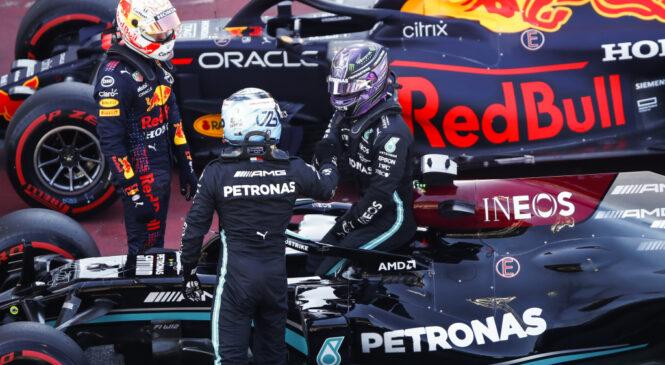 Hamilton je pričakoval dvoboj z Bottasom