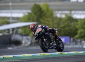 MotoGP, Le Mans: Quartararo na domači dirki s prvega startnega mesta
