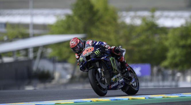 MotoGP: 5 zaporedni 'pole position' za Quartararoja v Kataloniji
