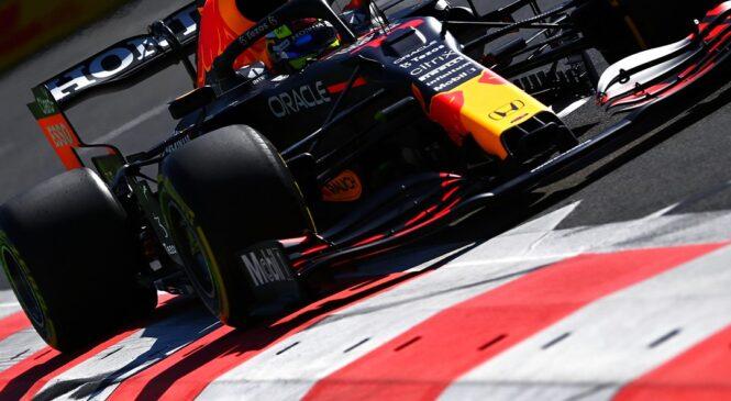 F1 Baku: Perez in Verstappen najhitrejša, Mercedesa na 11. in 16. mestu