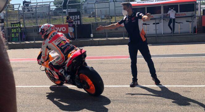 MotoGP: Marc Marquez najhitrejši na prvem treningu v Nemčiji
