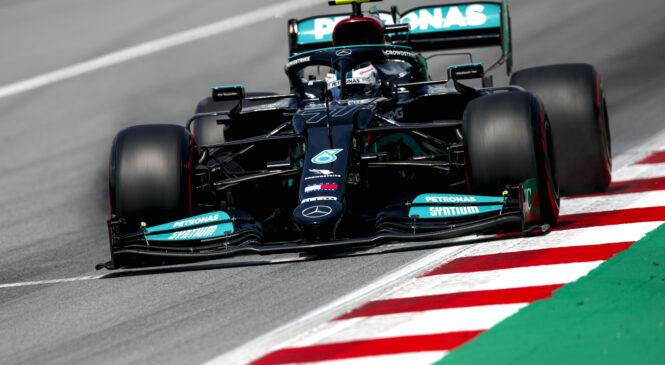 F1: Bottas in Hamilton najhitrejša v Franciji