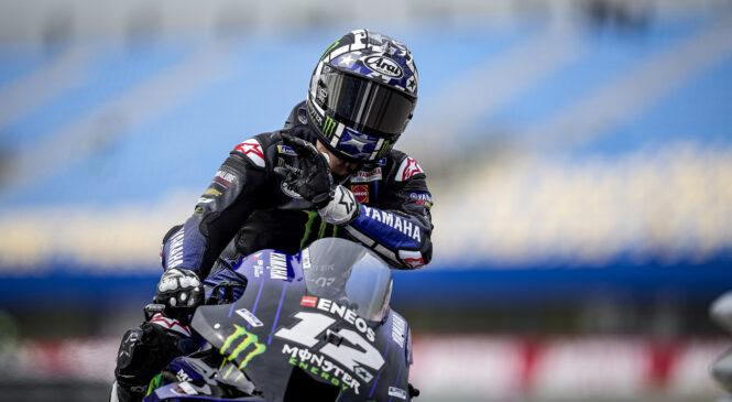 MotoGP: Vinalesu oba petkova prosta treninga