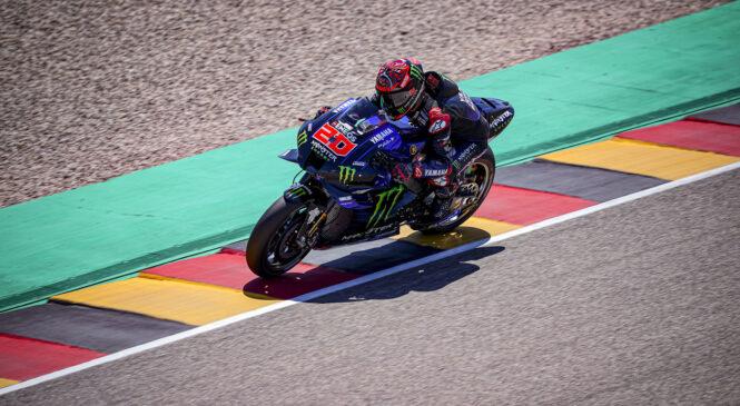 MotoGP: Quartararo najhitrejši na 3. treningu, oba Marqueza v Q2