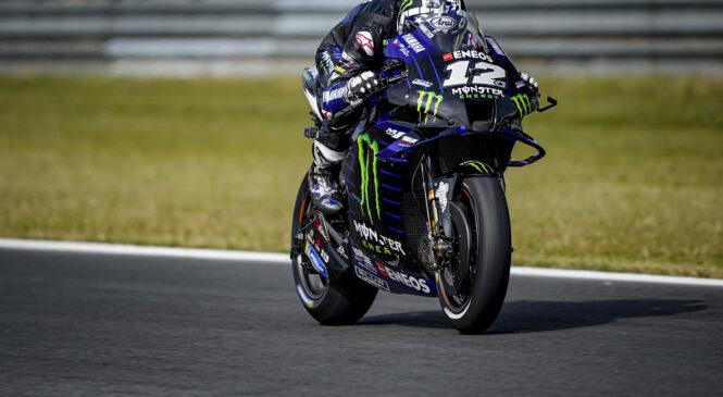 MotoGP: Vinales v obračunu za pole position ugnal moštvenega kolega Quartararoja