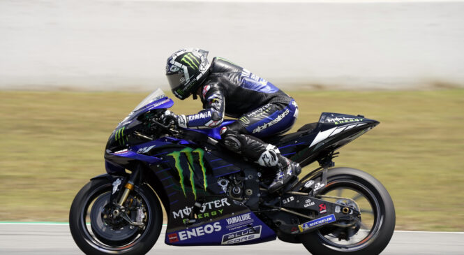 MotoGP: Vinales in Quartararo najhitrejša na testiranjih v Kataloniji