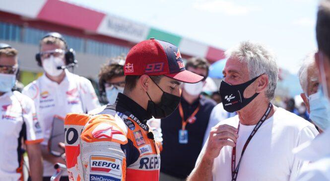 Marquez se je o poškodbi pogovoril z legendo MotoGP