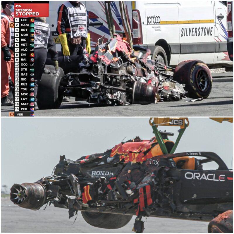 Dirkalnik Maxa Verstappna je bil po trku v zaščitne gume popolnoma uničen, popravilo pa naj bi stalo okrog 750.000eur.