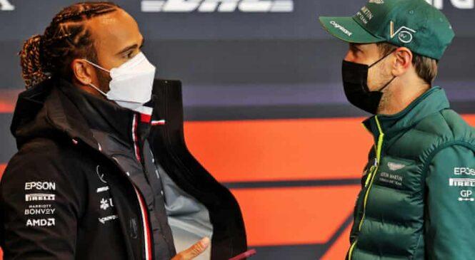 "Lewis Hamilton k Aston Martinu v ""sanjsko"" ekipo z Vettlom?"
