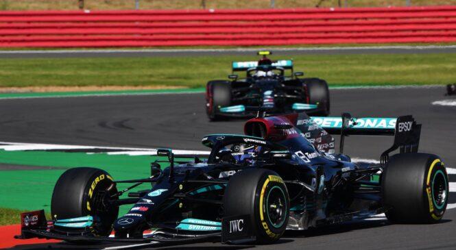F1 Silverstone: HAMILTON iz dirke IZLOČIL Verstappna in ZMAGAL