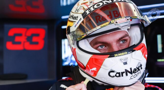 Verstappen Silverstone pustil za sabo in dosegel najhitrejši čas na 1. treningu