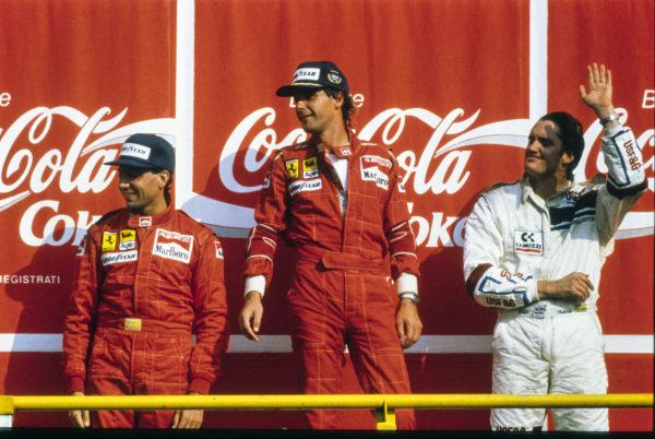 11. septembra 1988 je Michele Alboreto, v Monzi osvojil svoje predzadnje stopničke. Na dirki je zmagal Gerhard Berger, na stopničkah pa se jima je pridružil še Američan Eddie Cheever.
