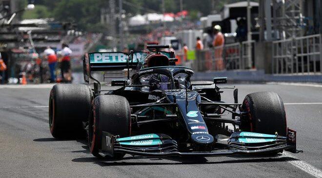 VN Madžarske: Mercedesa iz prve vrste, pole position Hamiltonu