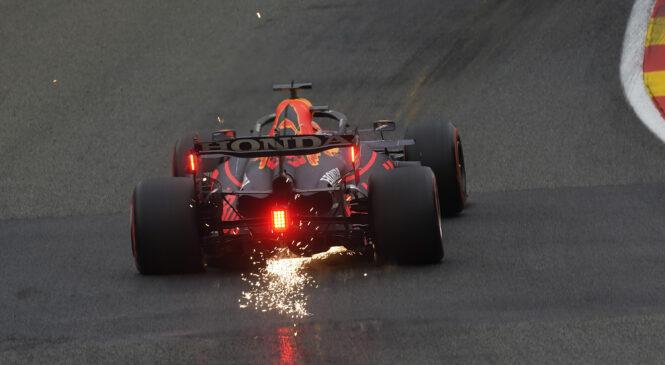 F1 VN Belgije: Popoldanski trening Verstappnu