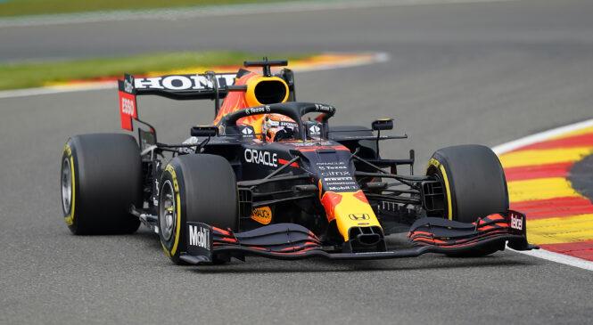 F1: Verstappnu deževne kvalifikacije v Spaju, Russell drugi