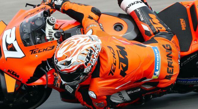 MotoGP Avstrija FP2: Iker Lecuona v dežju 3.4 sekunde pred tekmeci