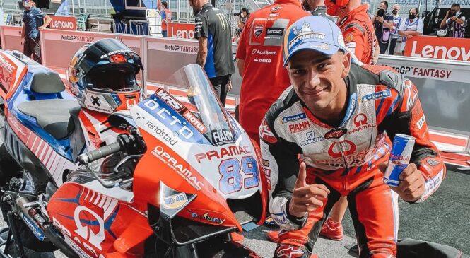 Jorge Martin v Spielbergu slavil prvo zmago razreda MotoGP